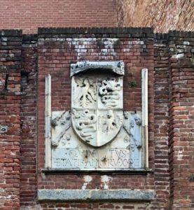 stemma sforzesco castello di novara