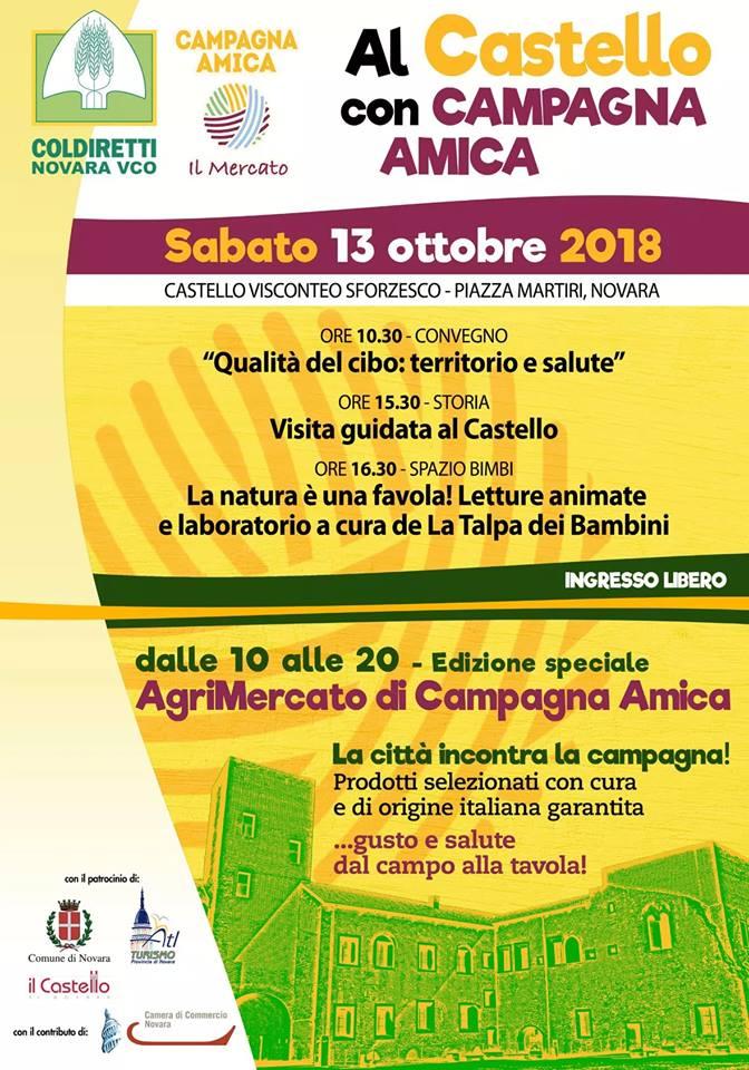 Campagna Amica in Castello a Novara